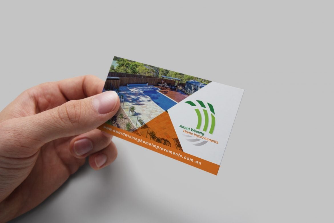 Business Card Designed & Printed in Brisbane
