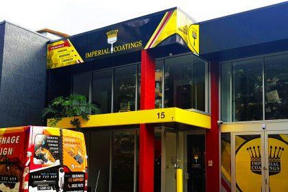 Imperial Coatings - Building Signage Brisbane