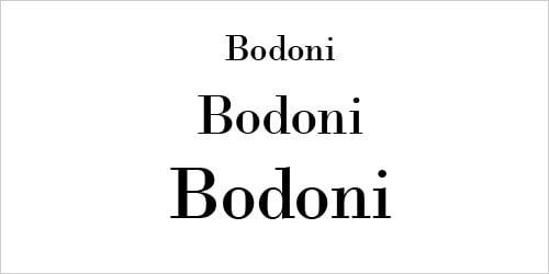 Bodini Script for Professional Graphic Design