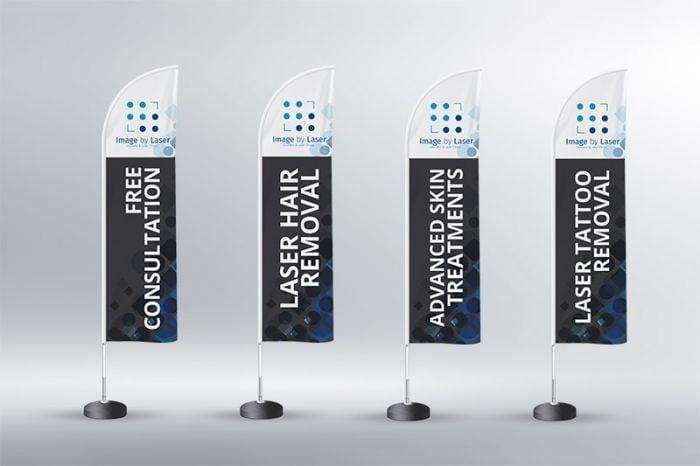 Designing Teardrop Banners - Brisbane Signage